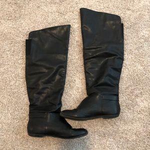 Macy's  | Black Knee Boots